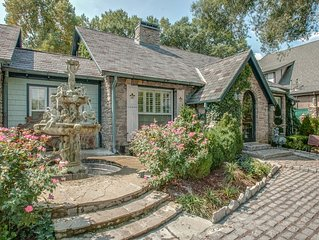~Charming Stone European Style Cottage Loft In Upscale, High-End Location!