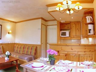 Apartment Valmorel, 2 bedrooms, 7 persons