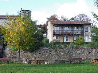 Saint Lizier, Spacious, Sunny, Ground Floor Apartment With Great Mountain Views