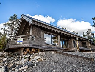 *** Modern holiday chalet on Havrefjell, WLAN, canoe, sauna, barbecue, rest, sk