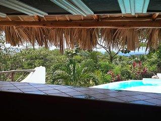 Mariquita vue exeptionelle mer et lomas - piscine privée - 5 mn plage
