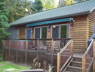 The River's Edge w/outdoor hot tub on Indian River! Canoe,Kayak,Aquacycle,wi-fi!