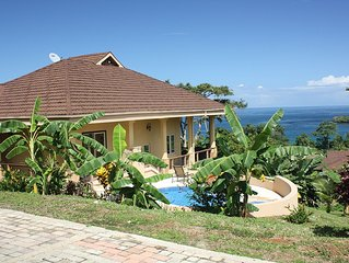 Luxury 3 Br Private Villa W/pool And Best Views Of Caribbean