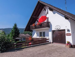 Centrally located holiday apartment in the Southern Black Forest with a private