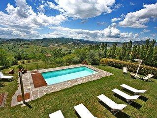 CASA DELLE GINESTRE- Private villa with pool, wi-fi, beach 16Km, near San Marino