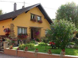 Gite 'Les collines' En centre Alsace