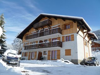 Rental apartment 75 m2 on carroz araches the heart of the great massif