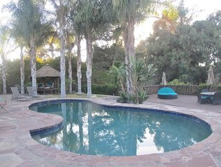 Resort Style Living! A Tropical Paradise Pool Home, Golf Courses