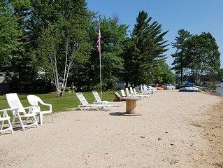 Otsego Lake - Beach House - WIFI - Directv - Clean - Boats & Kayaks Included.