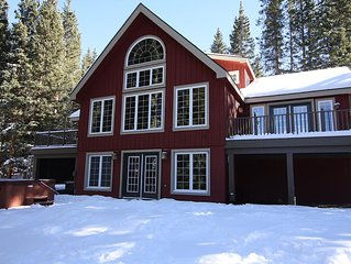 Secluded 5-Bedroom Breckenridge Retreat On 2 1/2 Acres W/ 2 Kitchens & Hot Tub