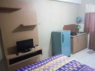 Budget stay in Apartment Gading Nias Studio Type
