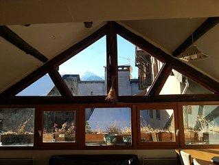 Duplex very bright 65m2 attic of Vauban city