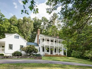 The Lodge at Meadow Lane Farm - historic accommodations on 500 acre farm along