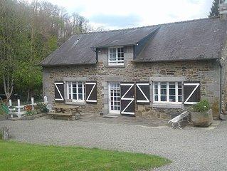 Le Vieux Moulin, La Fontenelle - PR8001 - Maison pour 7 personnes a Antrain