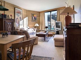 Courchevel 1850 - Charming apartment at the foot of the slopes