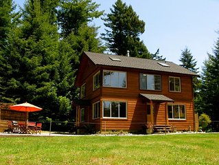 Beautiful, Warm & Welcoming-Redwoods, River, Beaches (also avail for 1+/mo stay)