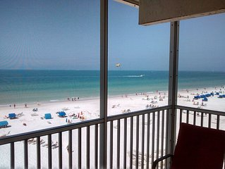 Siesta Key Beach Condo, 2Br/2Ba Direct Beach Front