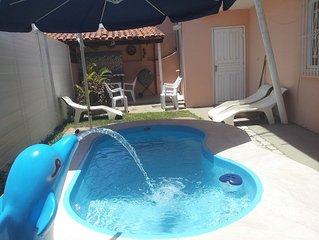 Praia Linda, 3 suites, piscina infantil, churrasqueira, proximo a lagoa