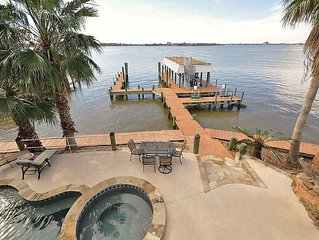 Waterfront Mansion off Gulf of Mexico