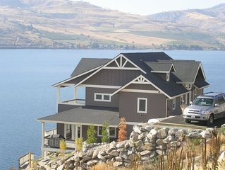Chelan Bluff: Spectacular Private Waterfront Home and Dock with 2 master bdrms