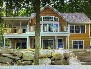 Spectacular Lake/Ski House in Bridgton Maine!