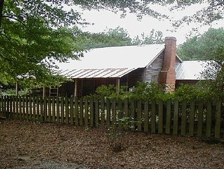 Restored 1840 historic Cottage at Oak Grove Plantation and Gardens.