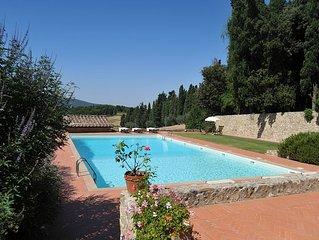 Villa 'Sangiovese' c/o Fattoria Lornano, Immersa Nel Chianti