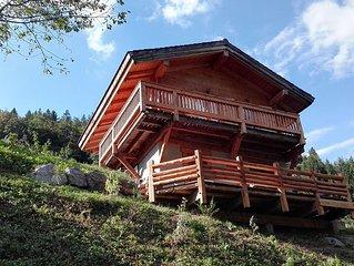 Chalet cosy indépendant au pied des pistes, proche de La Clusaz Grand Bornand