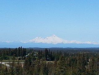 Views of ocean and mountains Homer Alaska