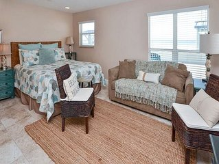 Sea Rocket 7 North Redington Beach Ground Floor Gulf Front Efficiency Unit