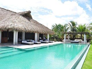 Casa Del Mar is a luxury oceanfront villa located in Puerto Escondido