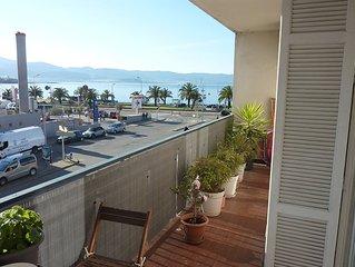 Bel appartement T3 avec vue sur le golfe d'Ajaccio
