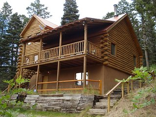 Big Foot cabin at 8300 Feet in the Jemez Springs Mountains