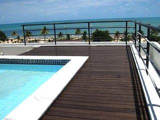 Cobertura Duplex no Tambau - vista para praia/mar 270 m2 (melhor bairro)