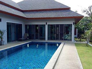 Lovely New Pool Villa Phuket & Bungalow : 4 bedrooms - 4 baths