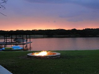 Fabulous 'House of Sunsets' on Main Body Water at Beautiful Lake Granbury