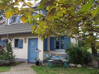 Holiday House 'Seeadler' by Oderhaff near Ostsea in the fishing village Kamminke