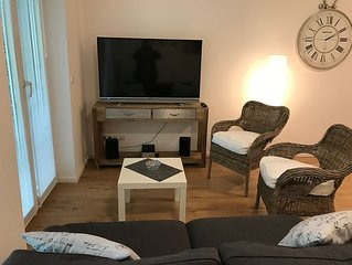 Fantastic apartment with balcony for 4 people in Hamburg Marienthal