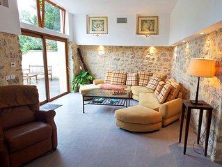 Gîte de charme 6 couchages, parc, dans village authentique proche Fontainebleau