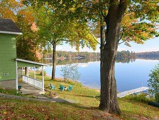 Unique Bass Lake Cottage