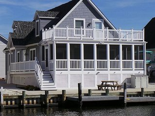 Fenwick Island –  Waterfront 4 Bedroom Home w/Community Pool & Boat Dock