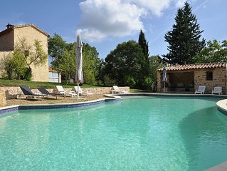 Villa with a large heated private pool near Lorgues