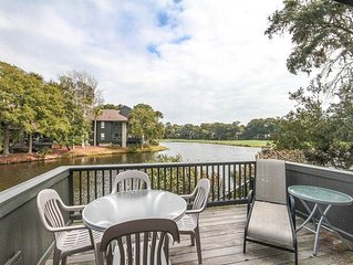Sit Back & Enjoy Your View Of The Turtle Point Golf Course- Private Deck!