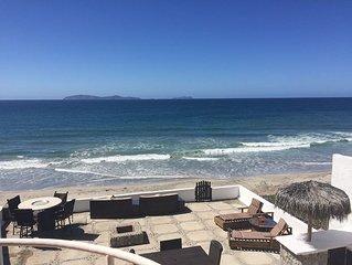 Henry's Beach House - Oceanfront Luxury Home Rosarito