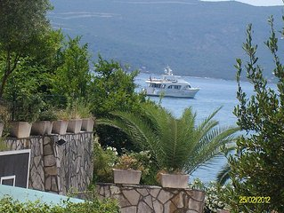 Apartments in Tivat,Montenegro with sea view