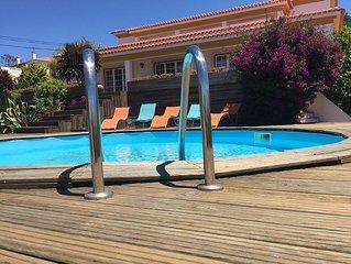 Luxury villa with amazing sea and lagoon views