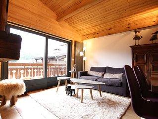 Appartement raffine, lumineux a 7 min du centre du village a pied