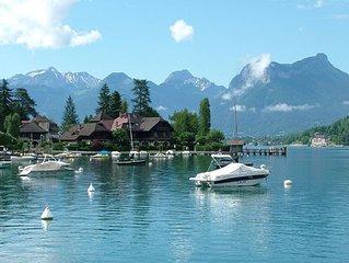 Maison a Annecy, entre Lac et Montagnes, 350m2, 16-18 couchages