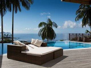 VILLAS PALM ROYAL - LUXURY VILLA QUEEN WITH A PRIVATE POOL OCEAN VIEW