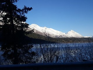 Bear Den in Seward less than 7 miles from the Waterfront!!